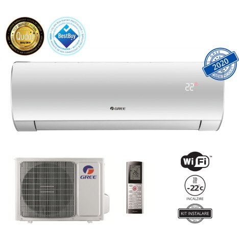 Aparat de aer conditionat Gree Fairy LCLH R32 WI-FI 24000 BTU GWH24ACE-K6DNA1A + KIT